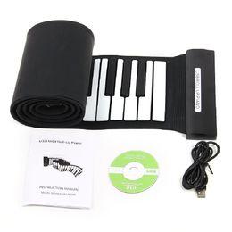 $enCountryForm.capitalKeyWord NZ - Professional 88 Key Electronic Piano Keyboard Silicon Flexible Roll Up Piano with Loud Speaker Wish US Plug