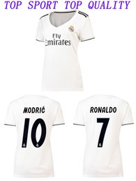 842e1ead7 Girls Soccer Shirts Canada - Womens 2018 2019 Real Madrid Soccer Jerseys 18  19 RONALDO Bale