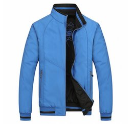 Bm Jackets Australia - New 2016 spring and autumn period and the Double Jacket for BM fashion casual Coat Jackets men Sportswear Size:XL-5XL