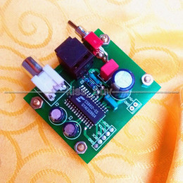 player board Canada - Freeshipping Assembled Coaxial Optical Receiver Board TO IIS I2S output CS8412 for amplifier