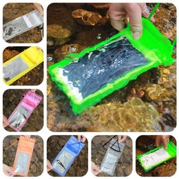 Bag for hot water online shopping - For Phone Waterproof Pouch Bag Swim Diving PVC Transparent Protective Moistureproof Bags Simple Practica Water Proof Sleeve Hot Sale1 kj Y
