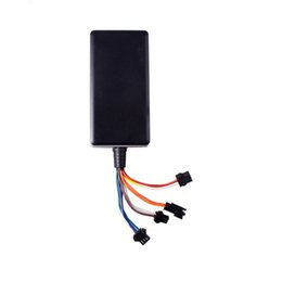 Vehicle Gps Locator NZ - Waterproof Car GPS Tracker Vehicle Locator Builtin GSM GPS Antenna Support Google Map Link Wide Input Voltage 9-36V (Retail)