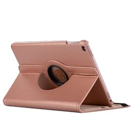 Smart rotary leather caSe online shopping - For ipad MINI currency Degree Rotating Rotary PU Leather Case Smart Cover Stand For iPad mini4