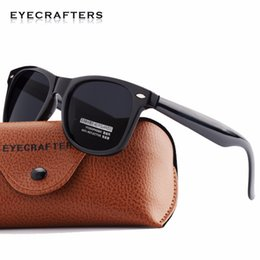fca01d69cf0 2017 New Sale Eyecrafters Polarized Sunglasses Classic Mens Womens Retro  Vintage Rivet Shades Brand Designer Sun Glasses Uv400