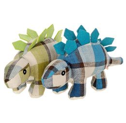 China Dog Toy Sound Training Pet Chew Toys Canvas Durability Dolls Bite Toys Dog Accessories Dinosaur Dolphin Design pet Toys KKA4788 cheap dolphins toy doll suppliers
