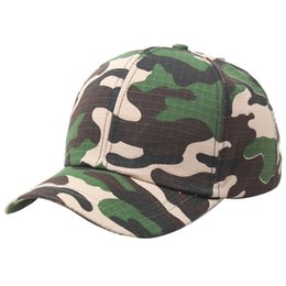 Designer Cheap Plain Curved Cotton Army Camouflage Baseball Caps For Adults  Mens Womens Blank Military Hats Spring Summer Sport Sun Visor c8ddf81147af