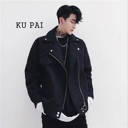 $enCountryForm.capitalKeyWord Canada - Men's Jacket 2017 Fall New Jacket Korean Slim Young Soldier Pure Color Motorcycle Men's Casual Loose