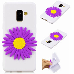iphone 3d skull case NZ - For Samsung Galaxy S9 Plus S8 (A8 Plus A5 A3) 2018 3D Skull Cartoon Soft Silicone Case Unicorn Doughnut Owl Flower Butterfly Cute Gel Cover