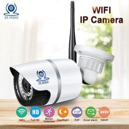 OutdOOr webcam ip wifi online shopping - ZSVEDIO Surveillance Cameras Alarm System IP Camera CCTV Camera WIFI IP Cameras Outdoor Waterproof Night Vision Device Webcam