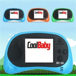 Inch lcd controller online shopping - Coolbaby RS A Video Game Console Bit Inch Color TFT LCD Screen Portable Handheld Game Player Tetris Children Game