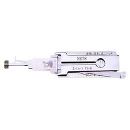 Venta al por mayor de LISHI Peugeot NE78 2-en-1 Auto Pick and Decoder Cerrajero Tools Lock Pick Up Set Lock Pick Set
