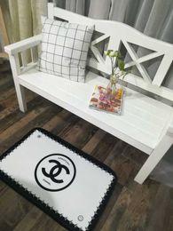 Kitchen Seating Australia - Fashion design floor mats living room bedroom door mats 50 * 80cm kitchen Nordic thick non-slip seat cushion home child mat