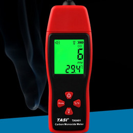 Monitor Gas Australia - TA8401 Handheld Carbon Monoxide Meter CO Gas Detector Gas Analyzer High Precision detector CO Monitor tester sensor