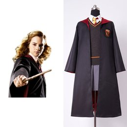 $enCountryForm.capitalKeyWord Australia - 2017 New Original Gryffindor Uniform Hermione Granger Cosplay Costume Child Version Cotton Halloween Party Gifts Best Quality
