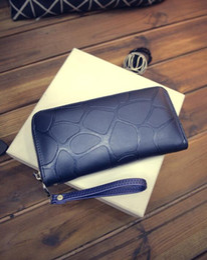 $enCountryForm.capitalKeyWord NZ - Hot Quality Fashion New Arrival Fashion Women Luxury PU Stone Road Wallet Zipper Coin Wallet Purse Phone Bag