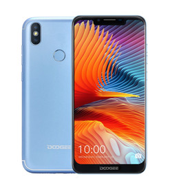 "doogee mobiles Canada - DOOGEE BL5500 Lite Android 8.1 Mobile Phone 5500mAh 6.19"" 19:9 U-notch screen MTK6739W 4G Smartphone 2GB+16GB 13MP Fingerprint"