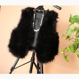 $enCountryForm.capitalKeyWord Australia - 2018 New Fashion Faux Fur Coat Winter Coat Women Fur Vest V-Neck Women Jacket Short Vest