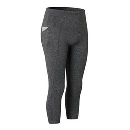 $enCountryForm.capitalKeyWord NZ - Nice! Women Gym Solid Sport Leggings High Waist Tights Seamless Running Workout Compression Pants 2018 New Yoga Pants im