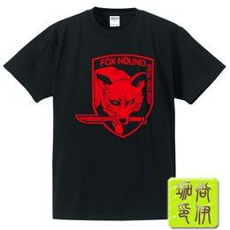 Fox Gear Canada - Metal gear rising fox T-SHIRT - men and women with the summer Metal Gear