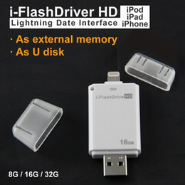 flash drive for iphone Canada - U34 usb NEW High quality USB flash drive 64G i-flash drive HD USB memory stick Pendrive for iphone  ipad PC MAC