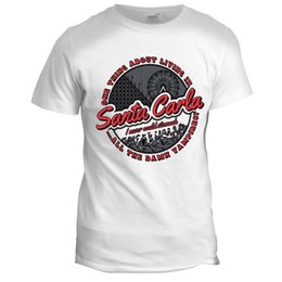 $enCountryForm.capitalKeyWord Canada - Santa Carla The Lost Boys Inspired Zombies Vampires Movie Film T Shirt Top Tee for Sale Natural Cotton T-Shirts Top Tee