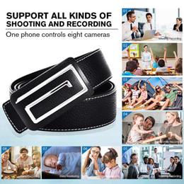Venta al por mayor de 32 GB de memoria incorporada HD 1280 * 720P WiFi IP P2P Cinturón de cuero Cámara inalámbrica con cinturón de internet para iPhone, iPad, teléfono Android Cam PQ237