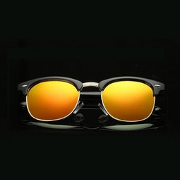 e6a059b13b Fashion Colorful Men Women Polarized Sun Glasses Half Frame Polarized Sunglasses  Custom Made Myopia Prescription Lens -1 to-6