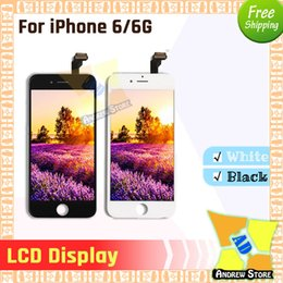 pixel repair lcd Australia - 10pcs lot High Quality LCD For iPhone 6 6G LCD Display Full Assembly Best Testing Well Repair Replacement No Dead Pixels Free Shi