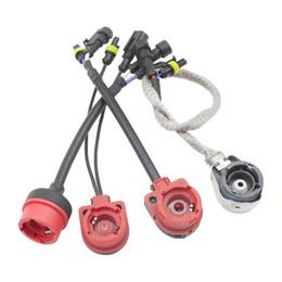 $enCountryForm.capitalKeyWord Canada - HID Xenon Conversion Bulb adapter D2s D2r Fixed Base Harness Cable Wire Conntctor Socket Adaptor Metal