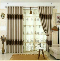 $enCountryForm.capitalKeyWord Canada - Blackout Curtains For Living Room Bedroom European Style Tulle Thick Curtains Ready Made Purple Brown beige Window Curtain Treatment
