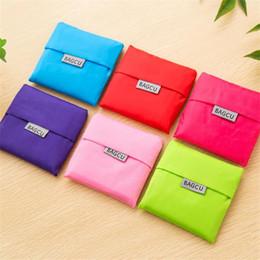 Borsa di moda pieghevole Borse di trasporto ecologiche Borse riutilizzabili Borsa di stoccaggio Borsa pieghevole portatile Tote Candy Packaging Bags