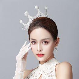 $enCountryForm.capitalKeyWord Australia - Bridal Diamond Jewelry Rhinestone Headband Hair Crown Accessories Party Wedding Crowns Bridal Jewel Headpieces