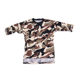 $enCountryForm.capitalKeyWord UK - baby girl long t shirt camouflage army dresses 2017 kid summer autumn dress long sleeve girls tshirts cotton childrens boutique clothing