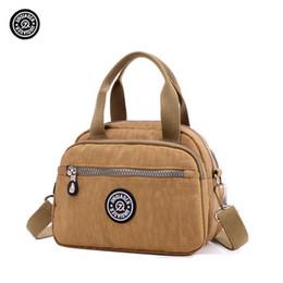 JINQIAOER Fashion Women Shoulder Bags Soft Waterproof Nylon Quality Kip  Style Monkey Handbag be82ce5ea66d9