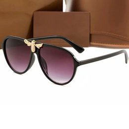 nice sunglasses for women NZ - The Most Popular Designer Sunglasses for Women Men Classic Frame Sun Glasses 100% UV Protection Eyewear 4 Colors Nice Face Quality