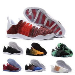 624f9077b845 2018 High Quality Kobe 11 Elite Mens Basketball Shoes Kobe 11 Red Horse Oreo  Sneakers KB 11 Sports Sneakers With Shoes Box