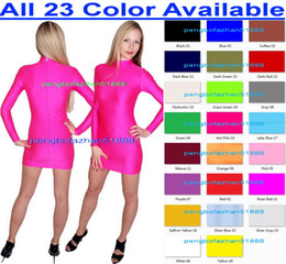 Wholesale gray skirt suits women for sale - Group buy New Color Lycra Spandex Dresses Sexy Women Nightclub Dresses Sexy Women Dress Women Skirt Halloween Party Fancy Dress Cosplay Suit P240