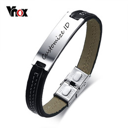 0d23ae3061507 Leather Engraved Bracelets Canada   Best Selling Leather Engraved ...