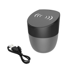 qi speaker NZ - QI Wireless Charging Bluetooth Speaker Charger for iPhone X 8 Samsung Galaxy S8