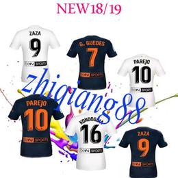 c805eb16d 2018 2019 VIETTO ZAZA PAREJO RODRIGO M. KONDOGBIA GAYÀ S.MINA Soccer  Jerseys 18 19 ZAZA Gaya Kondogbia Guedes Parejo FUTBAL Camisa