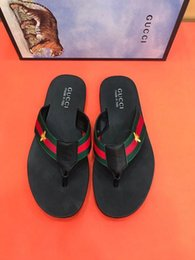 Sale Leather Sandals Canada - HOT SALE FASHION flip flops 207512 Men Slippers Slippers Drivers Sandals Slides Sneakers Leather Slipper