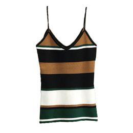 8f465a818abd3b Hot Sexy Crop Tops UK - EFINNY 2018 Camis Women Hot Sexy Cropped Stripe  Cami Top