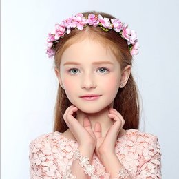 84614872479 Hair accessories for Women Tiaras Bohemia Bride Hair Wreaths Flower  Hairband Wedding Bridal Headdress Girl Head Flower Princess Headpieces