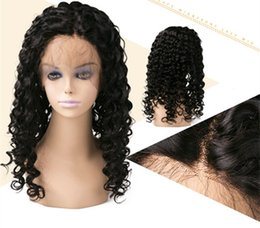 $enCountryForm.capitalKeyWord Australia - 2018 in stock 100% unprocessed remy virgin human hair natural color long kinky curly full lace wig for women