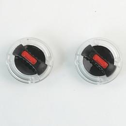 Venta al por mayor de HZYEYO 2 UNIDS / LOTE Accesorios de Casco del Interruptor de Lente de Visor Base Duradera Para Ls2 FF370, FF387, FF310, FF396, FF394, FF358, Modelo OF569