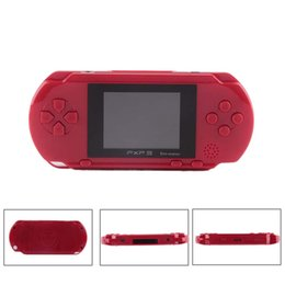 Discount pxp3 16 bit Mini Portable PXP3 Game Console Handheld 16 Bit PVP TV-Out Games PXP FC Slim Station Gaming Console Player Child Intelli