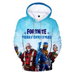 8b3263733a6b 3d printed hoodies online shopping - Hot Sale FORTNITE Mens Sweatshirts  Christmas Theme Fortnite Hoodie Fashion