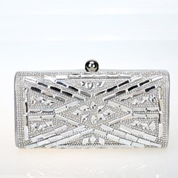 China Clutch bags Crystal Evening bags Handbags Bridesmaid clutches Banquet purses rhinestone Diamond Wedding messenger Elegant - EB1312001 cheap elegant evening bags crystal suppliers