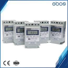 Discount timer day - OBOS brand upscale 12V 24v dc programmble electronic timer din timer with 10 times on off per day time set range1min-168