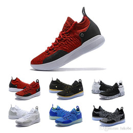 cba445c42d33 Cheap KD 11 EP Elite Basketball Shoes KD 11s Men Multicolor Peach Jam Mens  Doernbecher Trainers Kevin Durant 10 EYBL All-Star BHM Sneakers